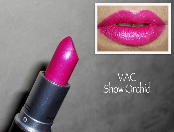 hinh anh Son MAC Show Orchid